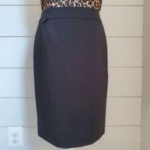 Calvin Klein Black Pencil Skirt Suit Separate